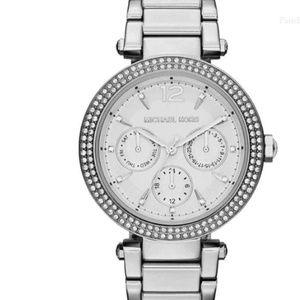 Michael Kors Women Parker Silver Watch MK5779
